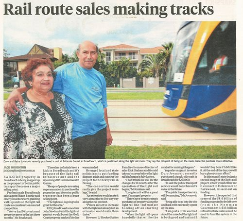 Rail Route Sales Making Tracks